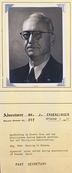 Ergenzinger, Wm. J.