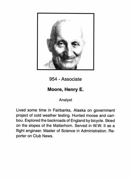 Moore, Henry E.