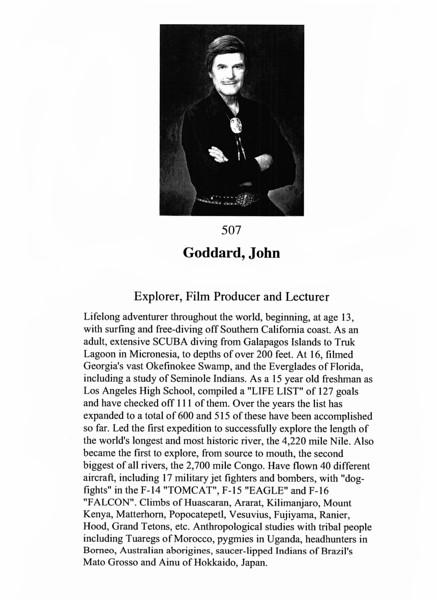 Goddard, John