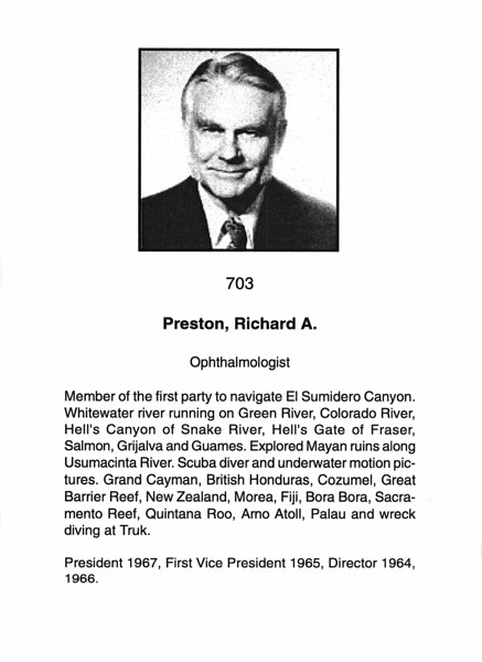Preston, Richard A.