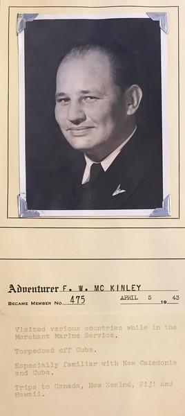McKinley, F.W.