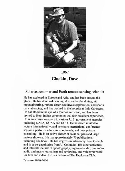 Glackin, Dave