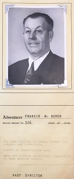 Burch, Francis