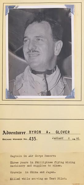Glover, Byron