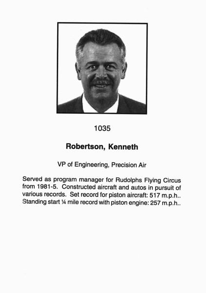 Roberston, Kenneth