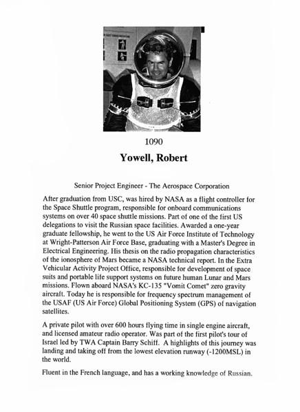 Yowell, Robert