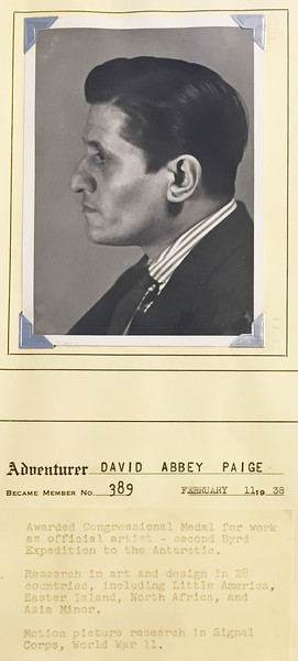Paige, David