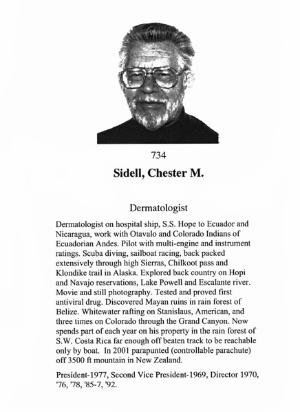 Sidell, Chester M.