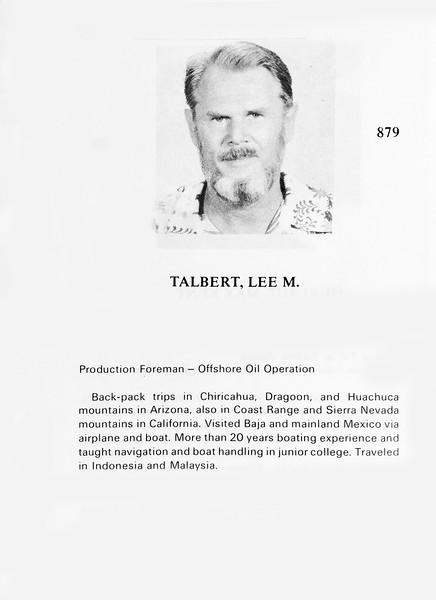 Talbert, Lee