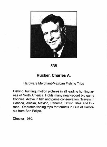 Rucker, Charles A.