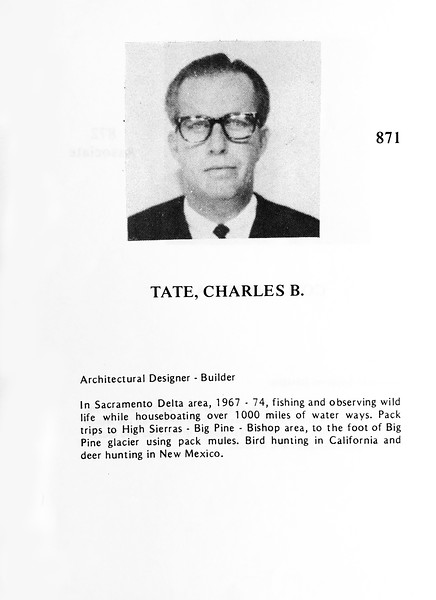 Tate, Charles
