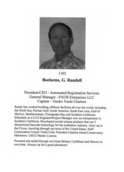 Boelsems, G. Randall