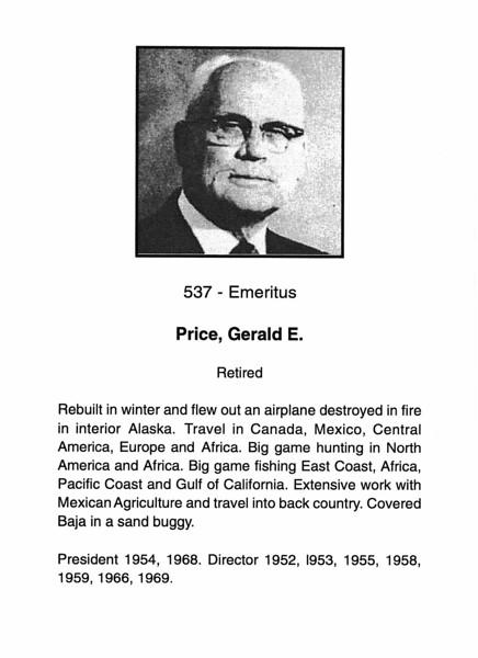 Price, Gerald E.