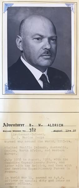 Aldrich, B. M.
