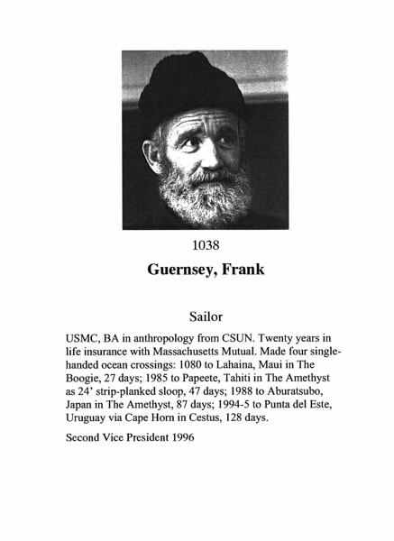 Guernsey, Frank