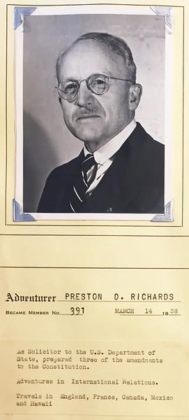 Richards, Preston
