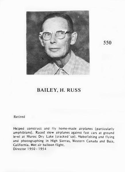 0550 Bailey, H  Russ