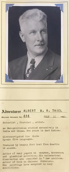 Thiel, Albert