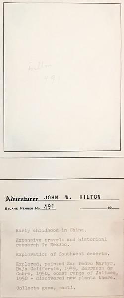 Hilton, John