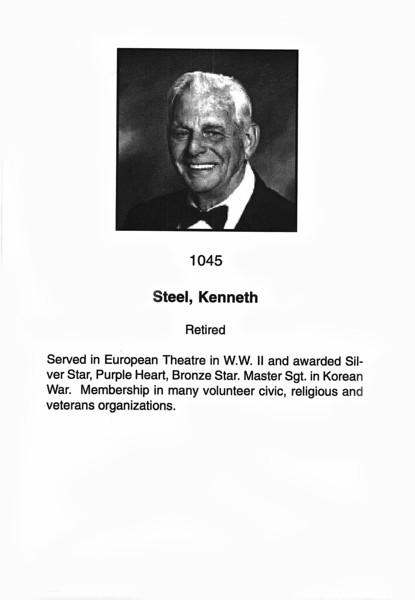 Steel, Kenneth