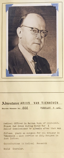 Van Tienhoven, Arius