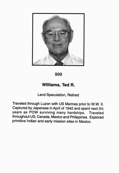 Williams, Ted R.