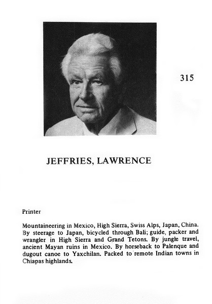 Jeffries, Lawrence