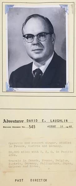 Laughlin, David