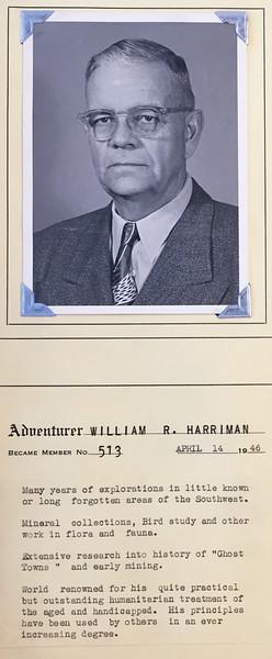Harriman, William