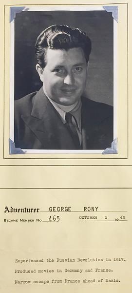 Rony, George