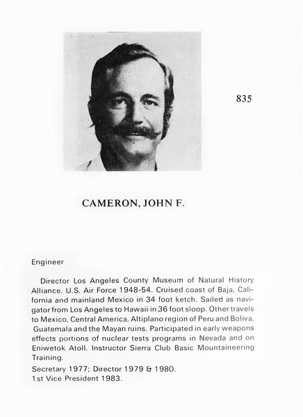 Cameron, John