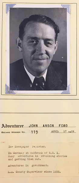 Ford, John Anson