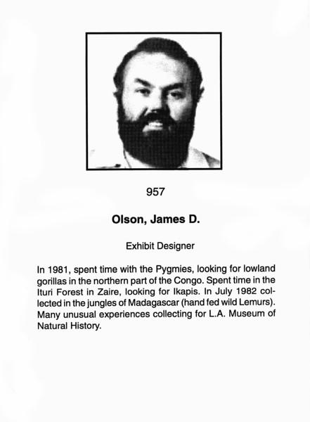 Olson, James D.