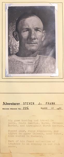 Frank, Steven J.