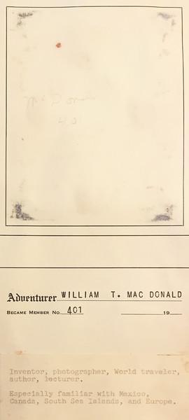 MacDonald, William