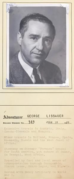 Lissauer, George