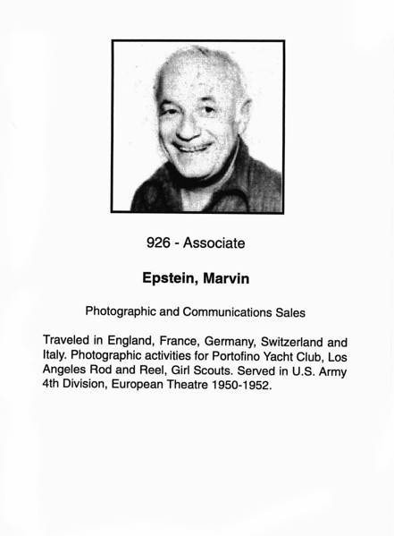 Epstein, Marvin