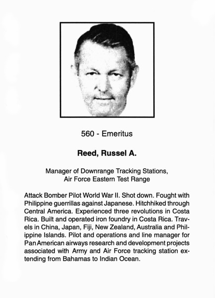 Reed, Russel A.