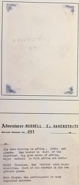 Havenstrite, Russell