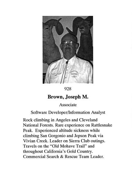 Brown, Joseph M.
