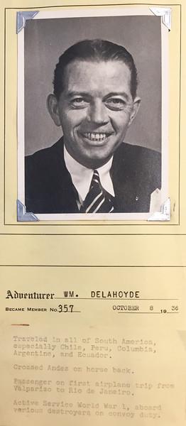 Delahoyde, William