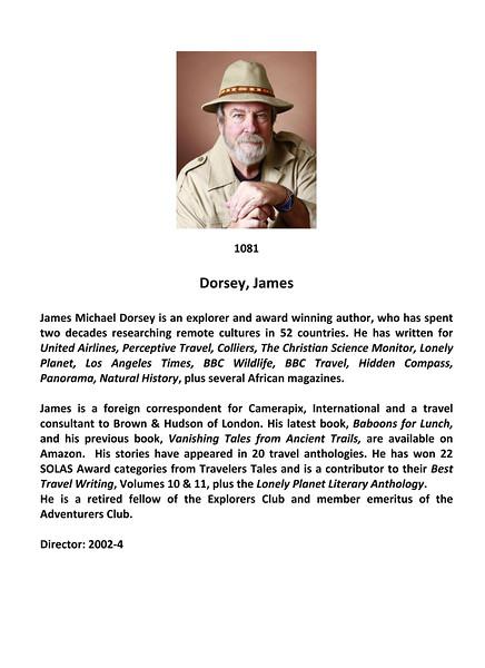 Dorsey, James