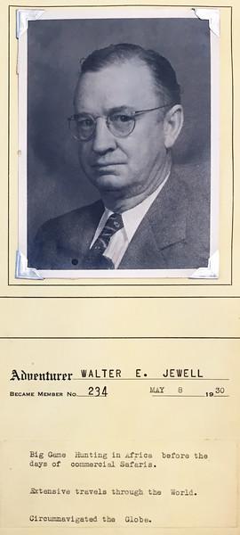 Jewell, Walter E.