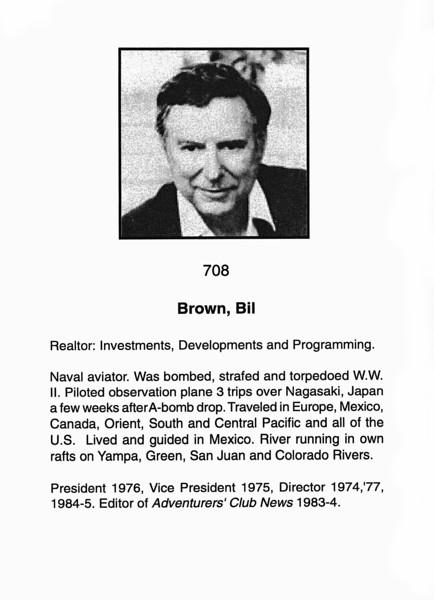 Brown, Bill