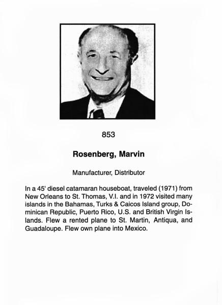 Rosenberg, Marvin