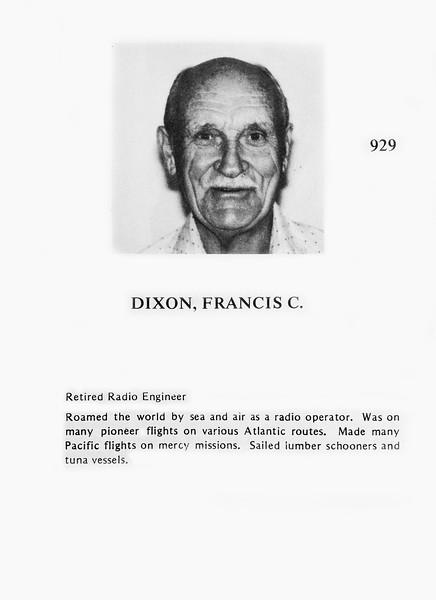 0929 Dixon, Francis C