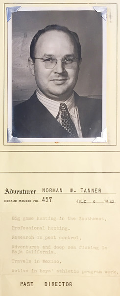 Tanner, Norman