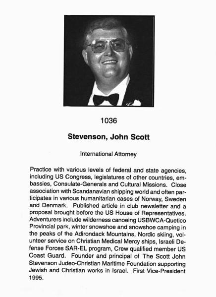 Stevenson, John Scott