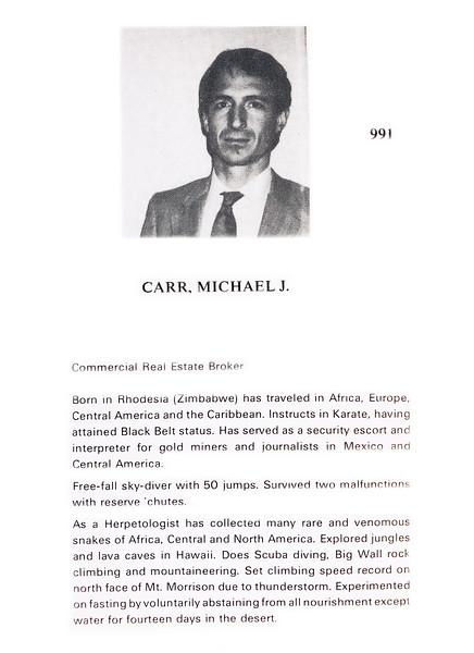 Carr, Michael J.