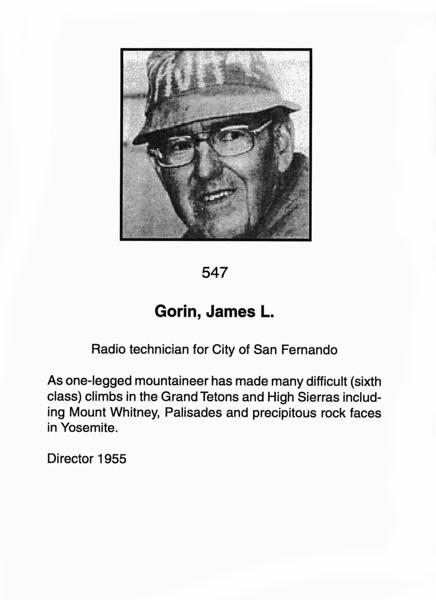 Gorin, James L.